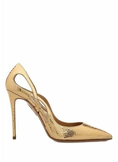 Aquazzura Ayakkabı Altın